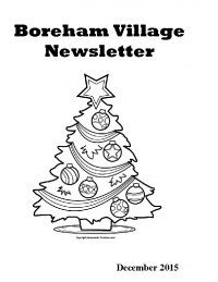 Boreham Village Newsletter – December 2015