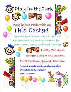 play in the park easter 2017